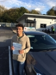 Alexander Hodge passed with Ivy School Of Motoring