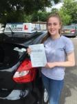 Ellen Clarabut passed with Ivy School Of Motoring