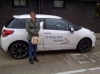 Ashley Haynes passed with LJS Driving School
