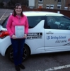 Candice Sears passed with LJS Driving School