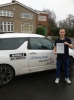 Jason Suckling passed with LJS Driving School