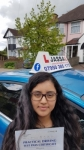 Nicole - Passed! Hayes April 2018 passed with Jassal Driving School