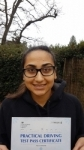 Henna - Passed 1st Time - Slough DEC 2016 passed with Jassal Driving School