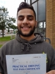 Jasdeep - Passed 1st Time - Southall June 2016 passed with Jassal Driving School