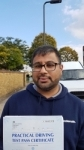 Kiran - Passed! - Southall Oct 2016 passed with Jassal Driving School