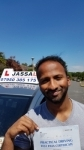 Sid - Passed 1st Time - Uxbridge July 2017 passed with Jassal Driving School