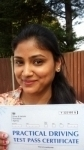Vibha - Passed 1st Time - Slough May 2016 passed with Jassal Driving School