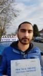 Vijay - Passed 1st Time - Hayes Feb 2017 passed with Jassal Driving School