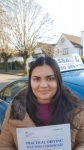 Yasmin - Passed 1st Time - Uxbridge Jan 2017 passed with Jassal Driving School