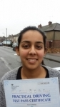 Nargis - Passed! - Slough Jan 2016 passed with Jassal Driving School