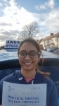 raawiyah - passed! Southall Feb 2018 passed with Jassal Driving School