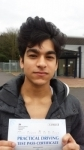 Ryan - Passed! - Uxbridge Feb 2016 passed with Jassal Driving School
