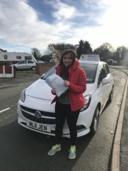 2 passes in 2 days for the twins! This time Seren having a great drive in Wrexham with 8 minors. Really proud of you Seren, safe driving in your Corsa