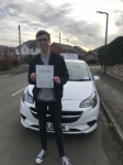 Harry passed with Burwell Driving School