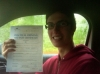 Alex passed with Burwell Driving School