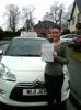 Donna passed with Burwell Driving School
