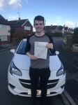 Tom passed with Burwell Driving School