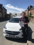 George passed with Burwell Driving School