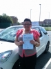 Hayley passed with Burwell Driving School
