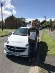 Andrew passed with Burwell Driving School