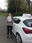 Fliss passed with Burwell Driving School