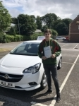 Gwilym passed with Burwell Driving School