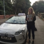 Chloe passed with Burwell Driving School