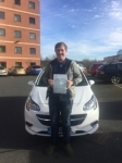 Luke passed with Burwell Driving School