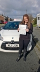 Jade passed with Burwell Driving School
