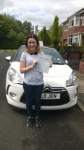 Katie passed with Burwell Driving School