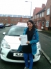 Sabah passed with Burwell Driving School