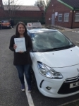 Rachel passed with Burwell Driving School