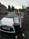 Caroline passed with Burwell Driving School