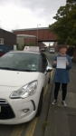 Leanne passed with Burwell Driving School