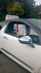 Sammie passed with Burwell Driving School