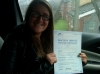 Stacey passed with Burwell Driving School