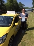 Steph passed with John Jervis Driving School