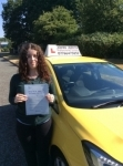 Hayley passed with John Jervis Driving School
