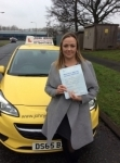Sarah passed with John Jervis Driving School