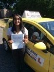 Natasha  passed with John Jervis Driving School