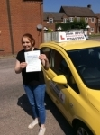 Michelle  passed with John Jervis Driving School