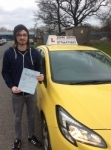 Zach passed with John Jervis Driving School