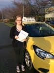 Libby passed with John Jervis Driving School