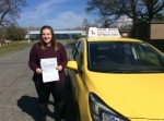 Amelia passed with John Jervis Driving School