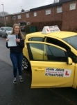 Morgan passed with John Jervis Driving School