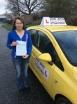Beata passed with John Jervis Driving School