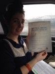 Beckii passed with John Jervis Driving School