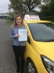 Cara passed with John Jervis Driving School
