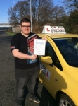 Connor passed with John Jervis Driving School