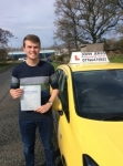 Dominic passed with John Jervis Driving School